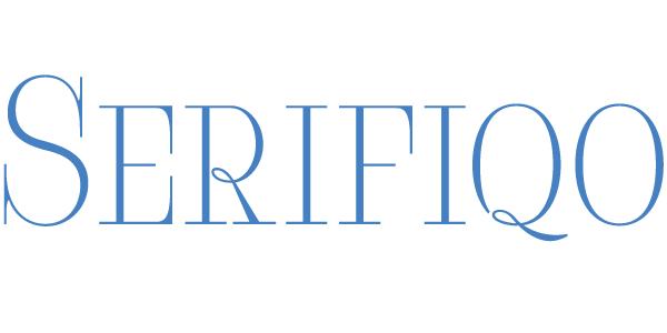 Serifiqo 4F Free Capitals font