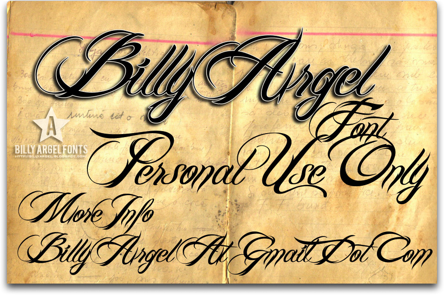 Billy Argel Font font