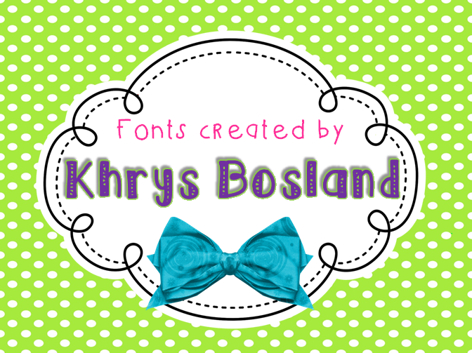 KB Cloudy Day font
