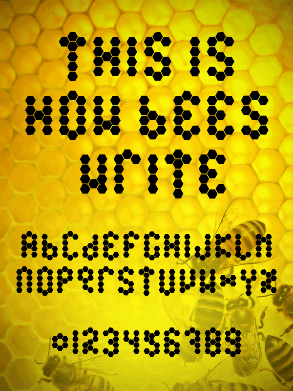 Beetype Filled font