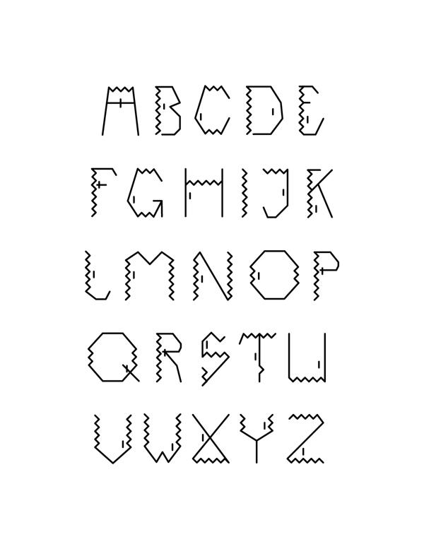 darect font1