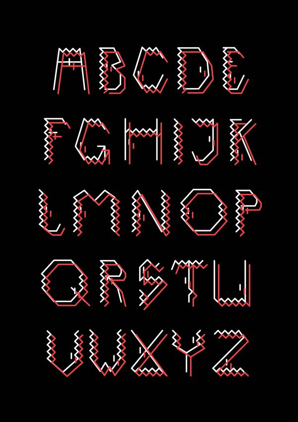 darect font2