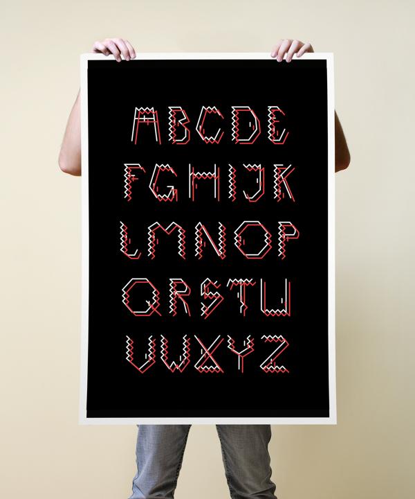 darect font3