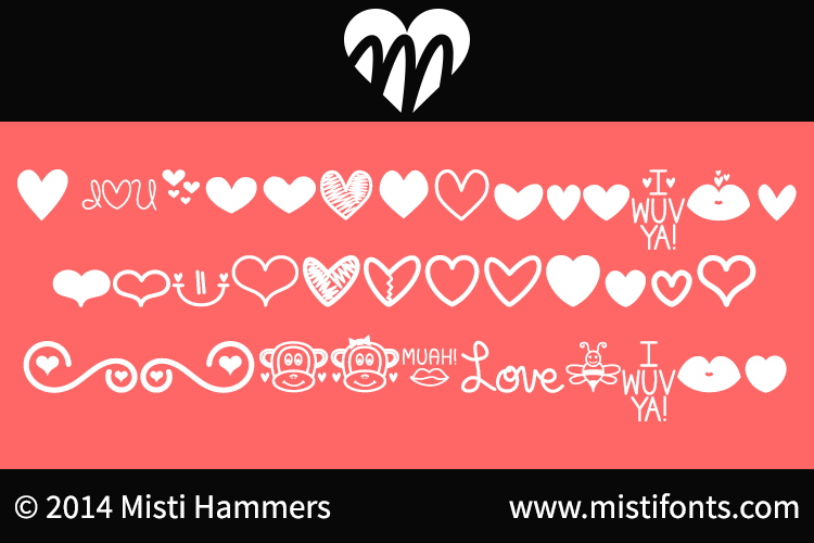 MF Love Dings font