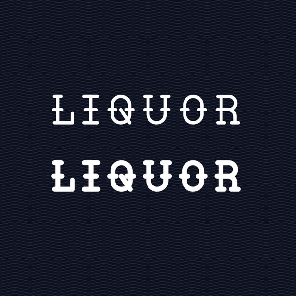 Liquor font