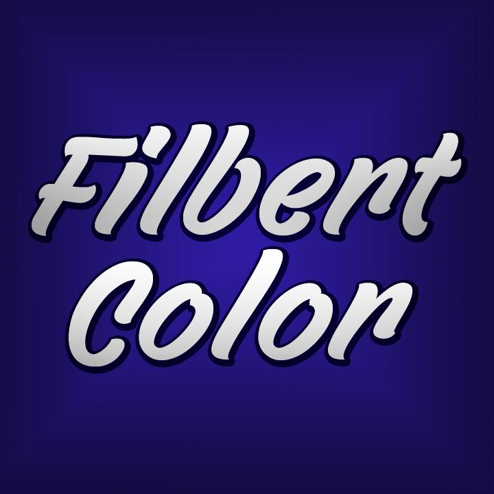 Filbert Color font