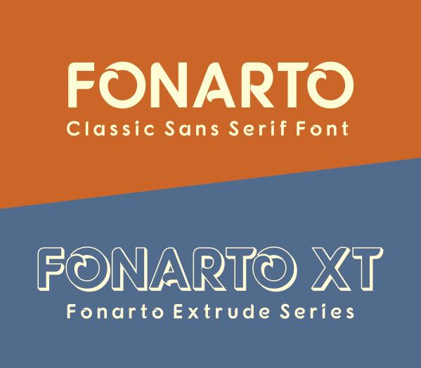 Fonarto font