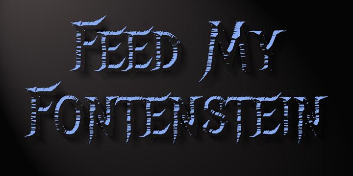 Headbanger Font Poster 5