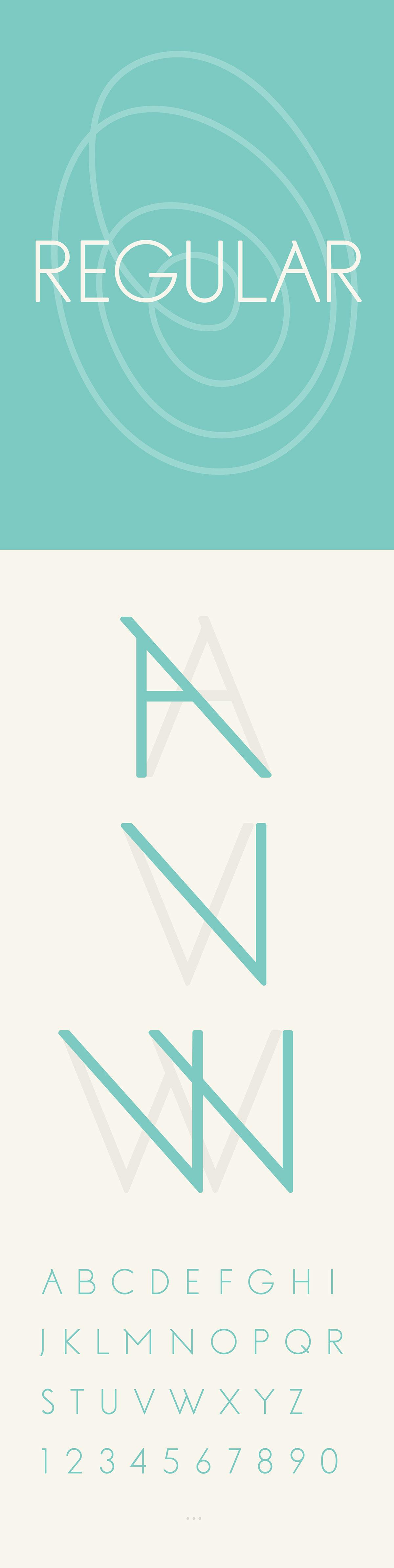No Fancy Name font
