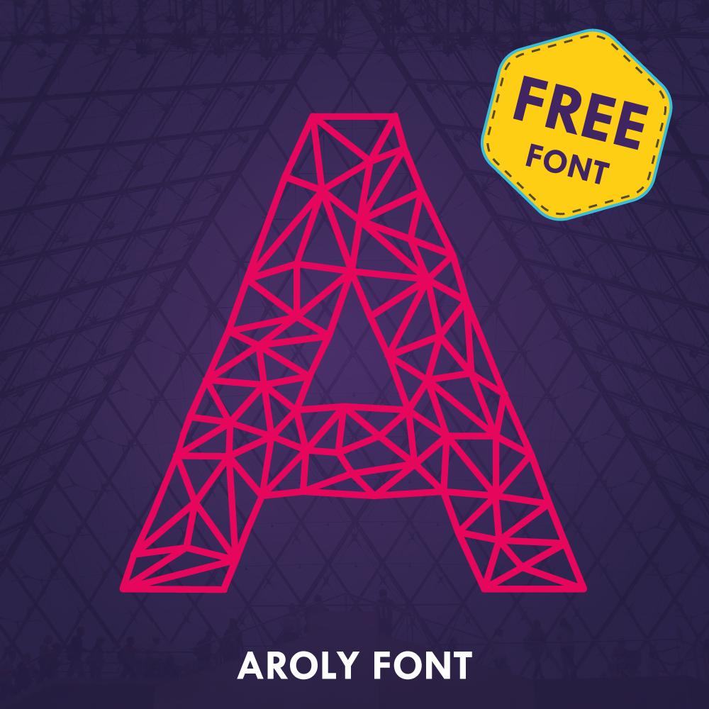 Aroly font