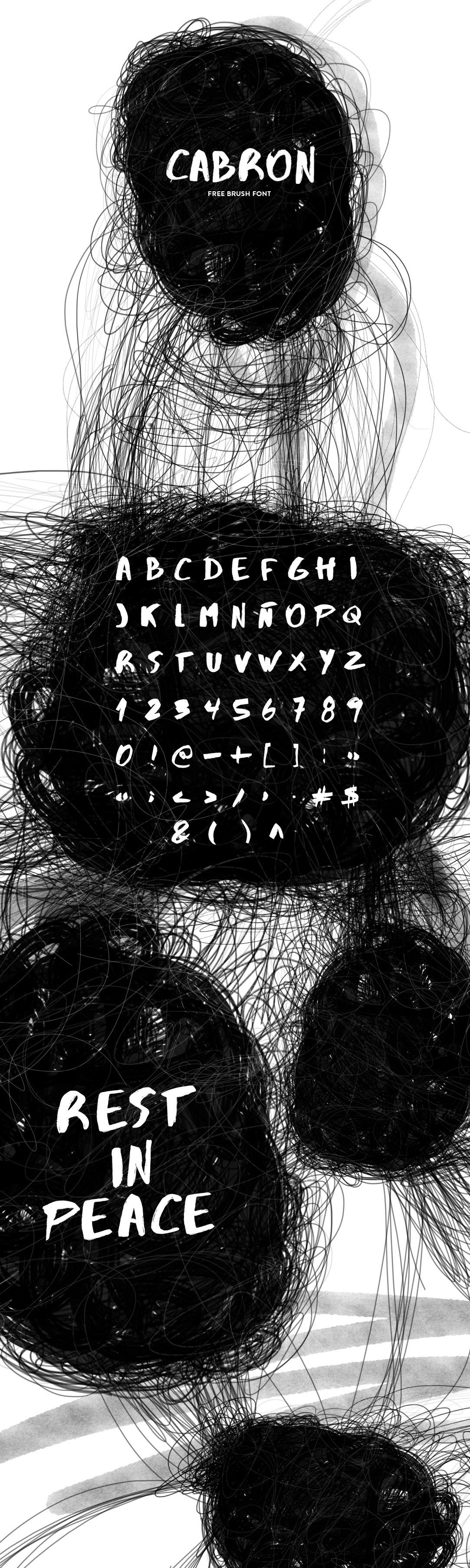 CABRON-font
