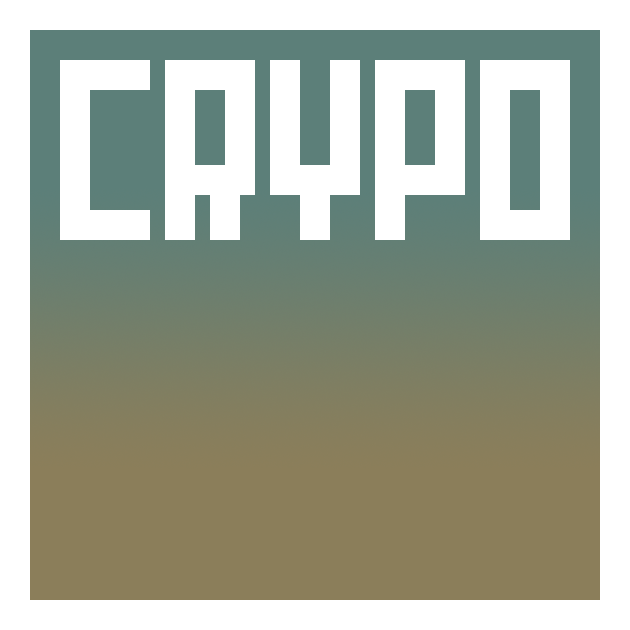 Crypo font