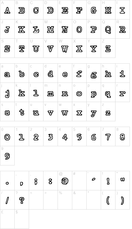 Tammikuun Kolmas font