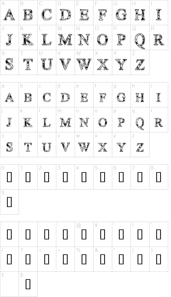 Techc font