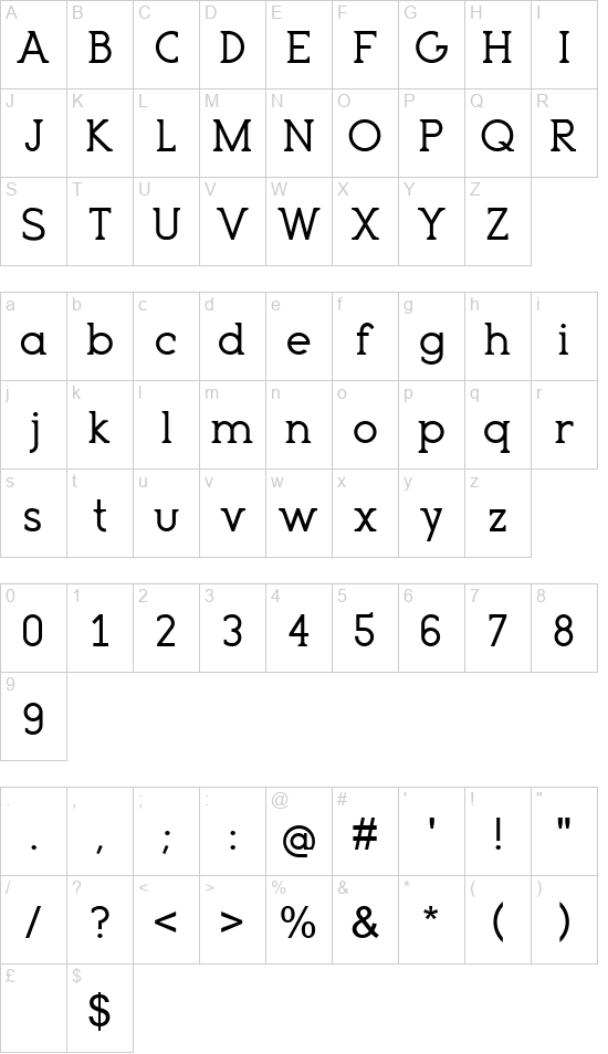 Terembura font