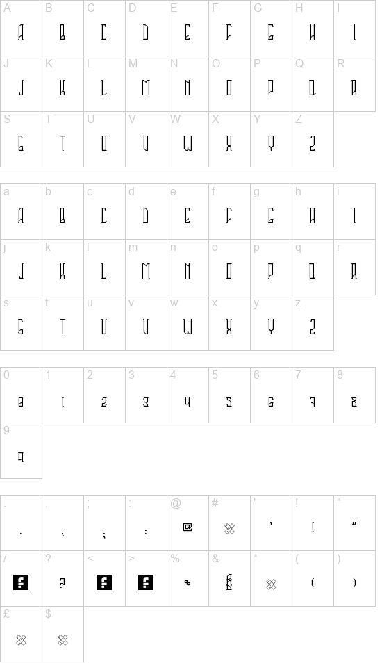 Sahaquiel font