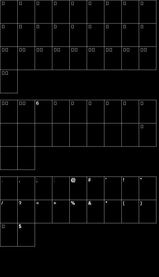 مربعات font