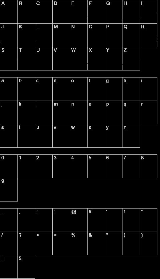 Olean font