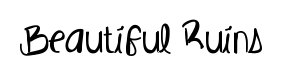 Beautiful Ruins font