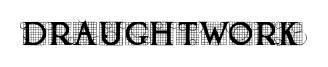 DRAUGHTWORK font