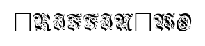 GriffinTwo font