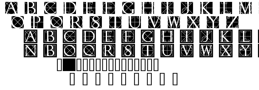 Rodgauer font
