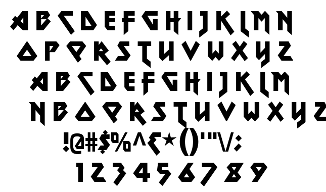 Metal Lord font