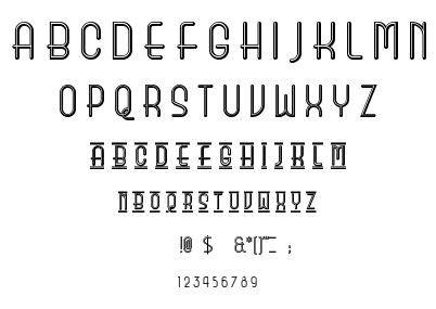 Beauty School Dropout II font