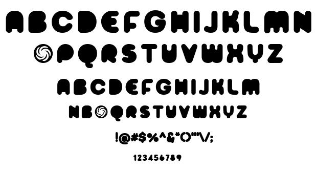 Sporedom font