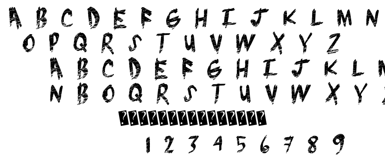 Brush Grunge font