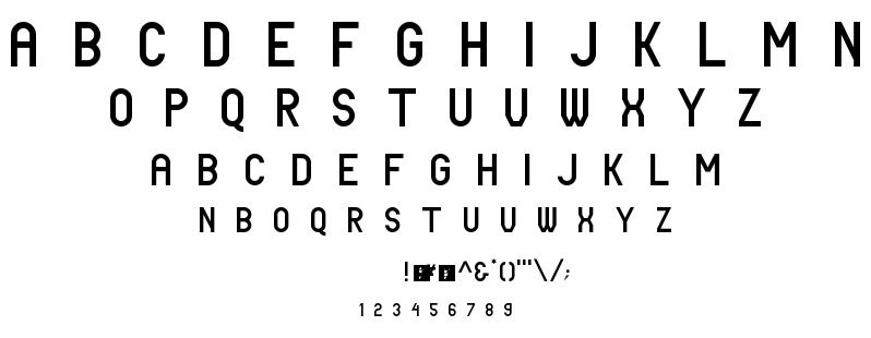 Tale font