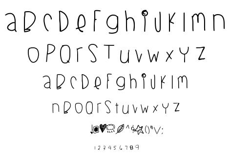 Blackberry Blues font