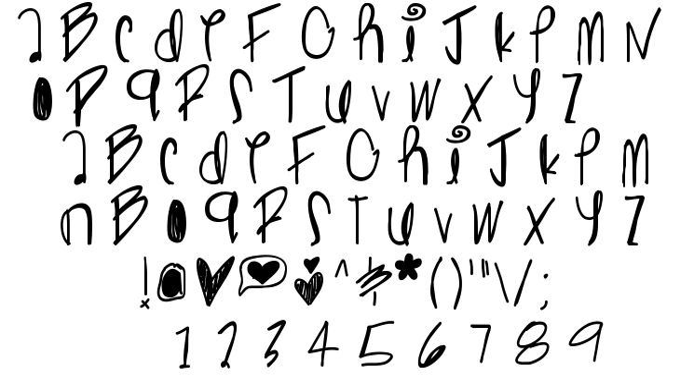 Ghost ginger font