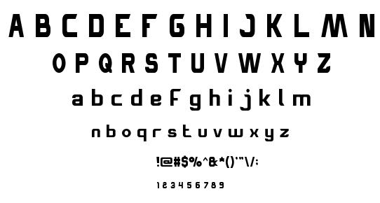 Space Truckin font