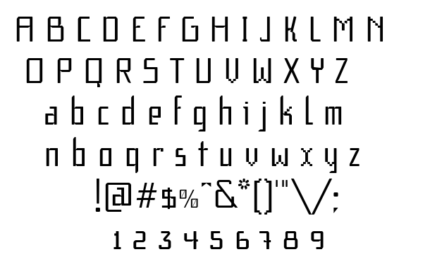 F1 Secuencia Quad FFP font