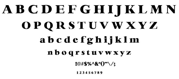 Heather font