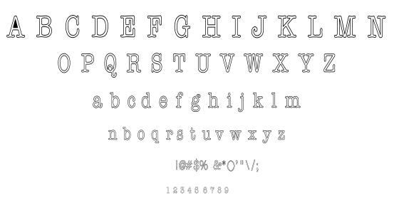 America1 font