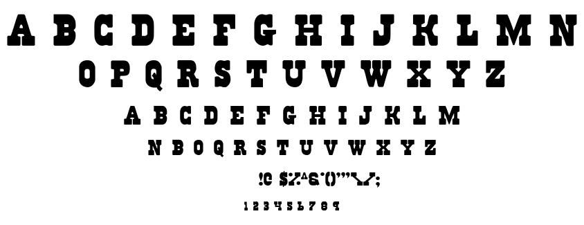 Reg font