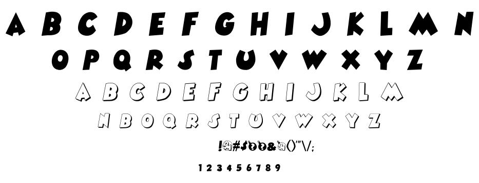 Danger Mouse font