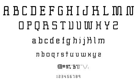 Big Foot font