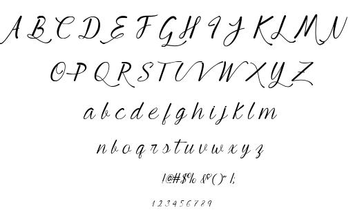 Young Beautiful font