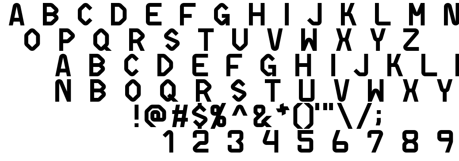 Differentiator font