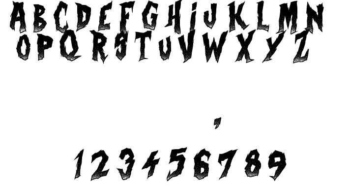 Curse of the zombie font