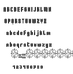 Shiro font