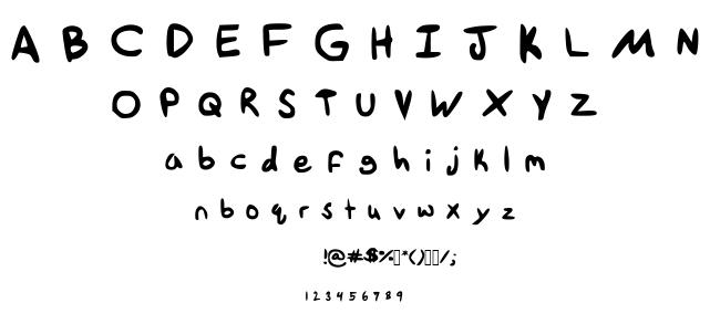 Tethanda font