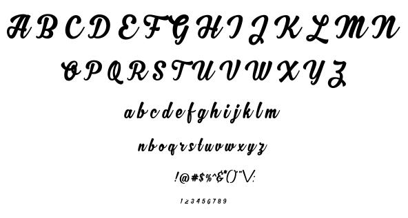 Zhafira font