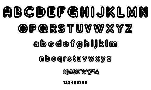 Monserga font