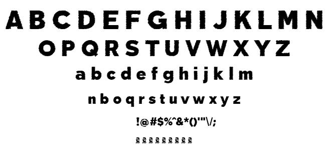 Deslucida font
