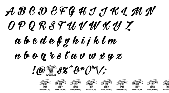 Milasian font