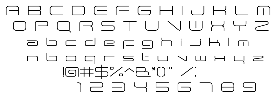 ANDTIOH One font
